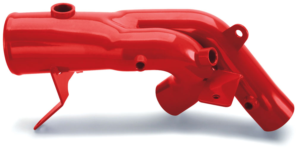Banks Twin-Ram manifold inlet assembly