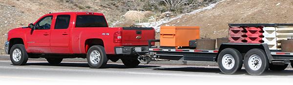 brake testing on Cajon Pass